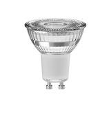 LED Retrofitlampe, GU10, Luxor, Glas