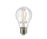 LED Normallampe, E27, Filament, Nicht Dimmbar,  Klar