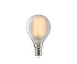 LED Kugellampe, E14, Filament, Dimmbar, Matt