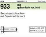 DIN 933 Sechskantschraube