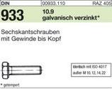 DIN 933 Sechskantschraube A2