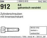 DIN 912 Innensechskantschraube