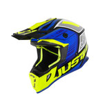 JUST1 J38 BLADE BLUE-FLUO YELLOW-GLOSS BLACK