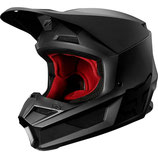 fox racing V1 Matte Helmet - MATT BLACK