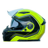 ONE RACING OUTLINE 2.0 GIALLO FLUO / NERO LUCIDO