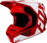 fox racing V1 PRIX HELMET red/white