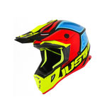 JUST1 J38 BLADE BLACK-YELLOW-RED-BLUE GLOSS
