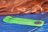 Räucherstäbchenhalter grün