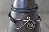 Wickelspiralarmband Kupfer