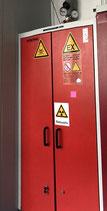 Gas cylinder cabinet Düperthal 7-134000