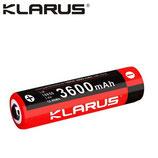 Batterie Klarus 18650 - 3600mAh protégée LiR