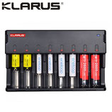 Chargeur Klarus Intelligent C8 pour batteries Li-ion, NIMH et Ni-Cd