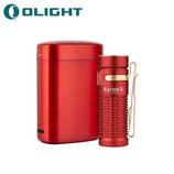 Lampe Torche Olight Baton 3 Premium Edition Rouge – 1200 Lumens