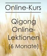 6 Monate Online Qigong Lektionen Juli bis Dez 2021