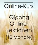12 Monate Online Qigong Lektionen Juli 2021 bis Juni 2022