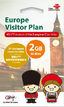 China Unicom US USA Visitor Plan SIMカード