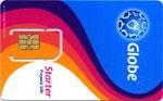 フィリピン Globe SIMカード【開通期限2018/07/31】