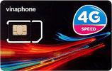 ベトナムVinaphone  15日 LTE対応使い切り短期プランSIMカード