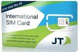 世界周遊 JT GLOBAL SIM CARD(残高を選択して購入してください)