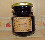 Confiture de myrtilles bio du Beaujolais