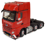 Mercedes-Benz Actros Gigaspace 6x2 red Nooteboom edition