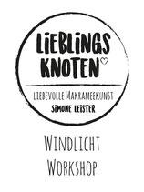 Makramee-Windlicht Workshop 27.11.2021