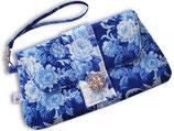Täschchen «Rosen Blau»