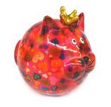 """Katze """"Frieda"""" rosa mit Herzen"""