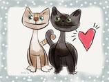 Katzenherzen