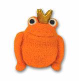 Filzfrosch orange 4