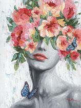 Butterfly Girl II - 70 x 100 cm - zZt ausverkauft