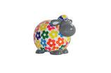 Petit Schaf weiß mit Blumen