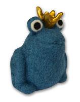 Filzfrosch blau 1