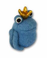 Filzfrosch blau 3