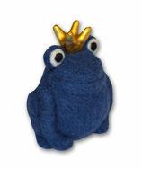 Filzfrosch dunkeblau