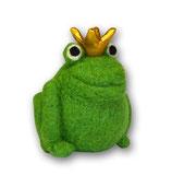 Filzfrosch grün 4