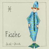 """Sternzeichen """"Freundlieb"""" Fische"""
