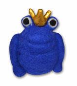 Filzfrosch blau 2