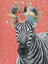 Zebra Girl, 70 x 100 cm