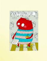 """Passepartout """"Kaffeepause"""""""