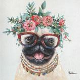 Blooming Dog - NEUHEIT Frühjahr 2020 - 70 x 100 cm