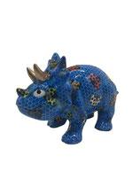 """Dino """"Winston"""" blau mit Marienkäfern"""
