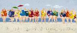 Frauen am Strand