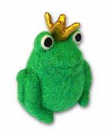 Filzfrosch grün