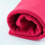 Bündchen glatt, rouge red
