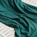 derby ribbed jersey, emerald