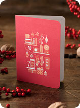 X.MAS CARD RED