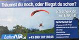 Motorgleitschirm-Rundflug