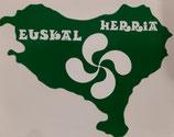 Pegatina MAPA EUSKAL HERRIA BERDEA Eranskailua