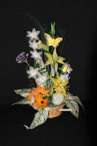 Rose, Lys, Marguerite & Fleurs des champs